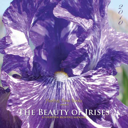 2010 Wall Calendar - The Beauty of Irises